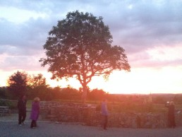 sunset at Middlewick