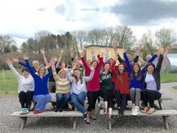 Happy clients on a Vital detox retreat